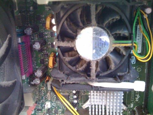 パソコンクリーニング Before