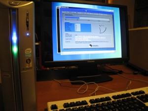 SOTEC PC STATION BJ3713KPB OSリカバリ