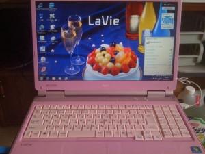 NEC LaVie LL750/W 無線LAN設定