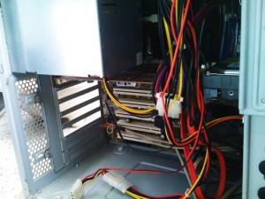 デスクトップパソコン。内部クリーニング その2