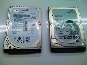 HP 2230s ハードディスク交換