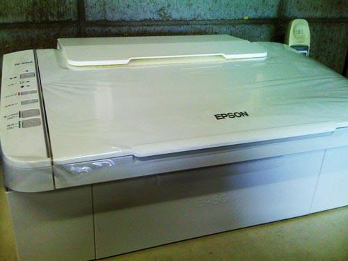 EPSON PX-402A 購入後の設置設定。