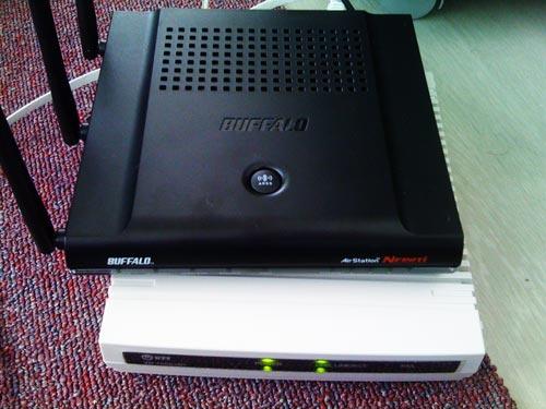 BUFFALO WZR-AGL300NH 無線ルータ