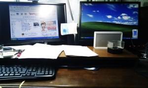 パソコン共有設定。LANプリンタ、EPSON LP-S5000とEPSON PM-T960設定。広島市安佐南区のお客様