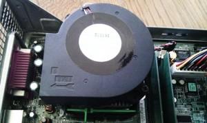 DELL Dimension 4600C CPUファン