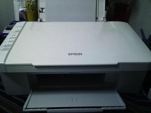 EPSON PX-402A Windows 7 USB接続設定。広島市東区のお客様