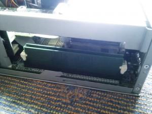 NEC VALUESTAR  PC-VL3508D 256MBから512MBへメモリ増設