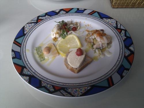 広島県廿日市 ZIZO & PAS DE CHATでお肉のコースランチ。