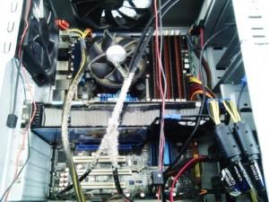 パソコン内部クリーニング