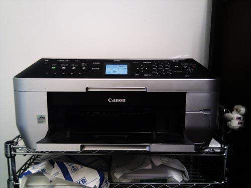 Canon PIXUS MX860 LAN接続印刷設定