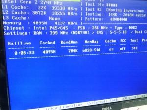 DELL Vostro220s 2GBから4GBへメモリ増設