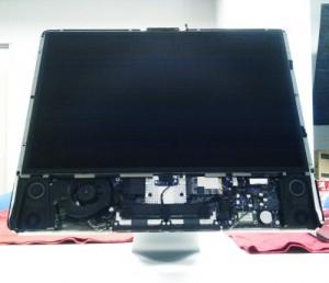 Apple iMac ハードディスク320GBから1TBへ交換