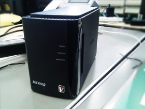 TOSHIBA ノートPCとBUFFALO NAS 初期セットアップ