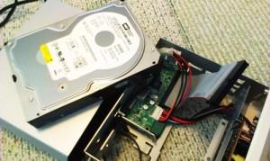 BUFFALO 外付けハードディスク読み取り不可。診断と修復