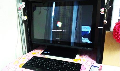 富士通 FMV ESPRIMO FH77/HD セットアップ、周辺機器設定、データ引っ越し。