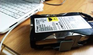 ハードディスク修復とデータの引っ越し