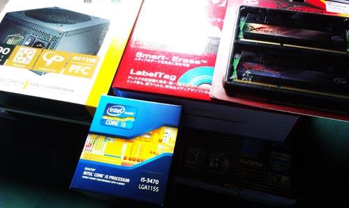 オリジナルデスクトップPC製作と既存PCのデータ移行