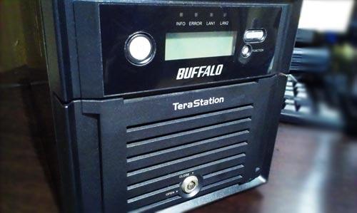 BUFFALO NAS TeraStation 起動不可。ハードディスク内のデータ取り出し