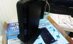 NEC 無線ルータ。Aterm WR8750N