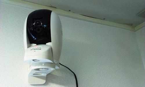 MASPRO(マスプロ) 「お部屋を見守るライブカメラ」