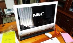 NEC VALUESTAR Windows8 セットアップと無線ルータの交換。
