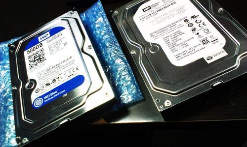 HDD交換とWindows Vistaの再インストール。周辺機器の設定。