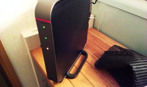 BUFFALO 無線ルータ WZR-900DHP 初期設定とSurface Pro 無線接続。