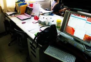 共有している EPSON PM-G4500 で印刷できない。