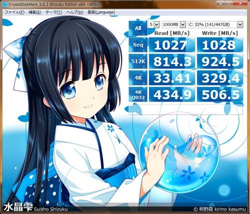 Intel SSD 520 RAID 0 benchmark
