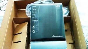 無線ルータ交換。NEC Aterm  WG1800HP2
