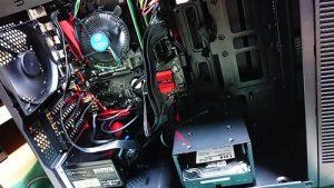 自作PC組み立て。動作確認。