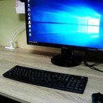 自作PCセットアップと設置。