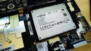 TOSHIBA dynabook N61 crucial MX300