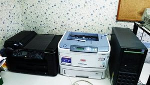 OKI レザープリンタ EPSON 複合機