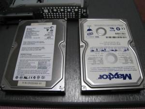 富士通 FMV DESKPOWER CE50L7 ハードディスク交換 その3