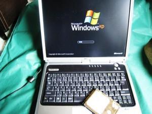 NEC LaVie L LL750/2 ハードディスク交換とデータ移行