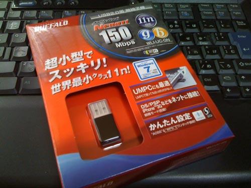 BUFFALO USB無線子機 WLI-UC-GN