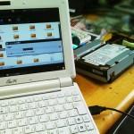 起動出来なくなったパソコンから、ハードディスク内のデータ取り出し。広島市安佐南区のお客様