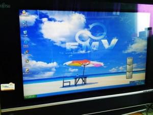 富士通 FMV-DESKPOWER L50H ハードディスク交換