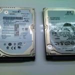 HP 2230s ハードディスク交換と、Windows 7インストール。広島市西区のお客様
