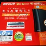 BUFFALO HD-CB1.0TU2 外付けハードディスクを、PS3 torne(トルネ)用に購入・・・?