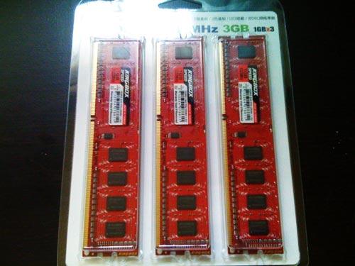 Triple-Channnel DDR3-1333 3GB KINGBOX