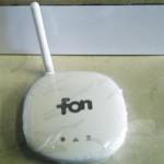 ソフトバンクが無料配布している、fon Wi-Fi ルータを自宅に設置してみました。