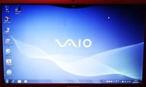 SONY VAIO VPCEB18 ハードディスク交換とWindows7リカバリ