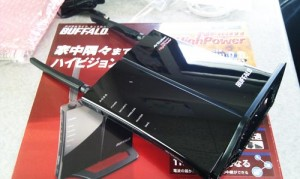 BUFFALO WHR-HP-G300N 無線ルータ設置 無線LAN接続設定