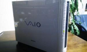 SONY VAIO Type H VGC-H31B メモリ512MBから1GBへ増設