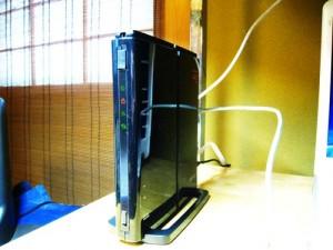 BUFFALO WZR-HP-G301NH ケーブル回線接続。無線LAN設定。