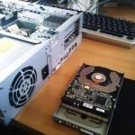 壊れたパソコンからハードディスク内のデータ取り出し。広島市中区のお客様
