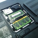 DELL Vostro 1000 1GBから2GBへメモリ交換。広島市安佐南区のお客様