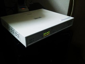インターネットに接続できない。広島市安佐北区のお客様